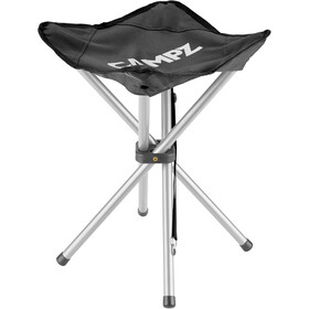 CAMPZ 4 Legs Folding Stool black
